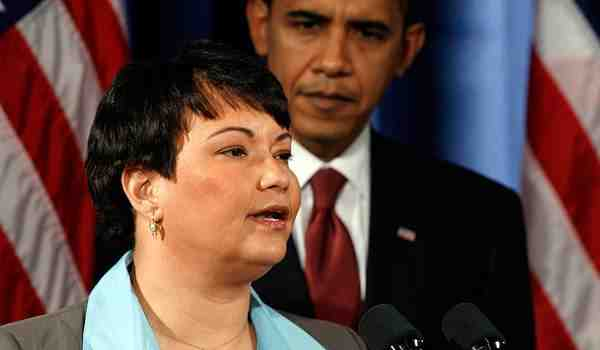 "EPA Chief Lisa Jackson & President Barack Obama, undated/Getty, ""Obama's Green Team,""Bloomberg images.businessweek, businessweek.com"