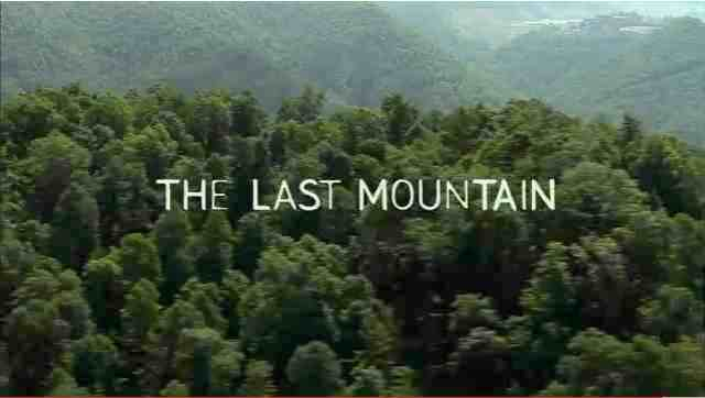 "Image from trailer for ""The Last Mountain,"" official selection of 2011 Sundance Film Festival, youtube.com"