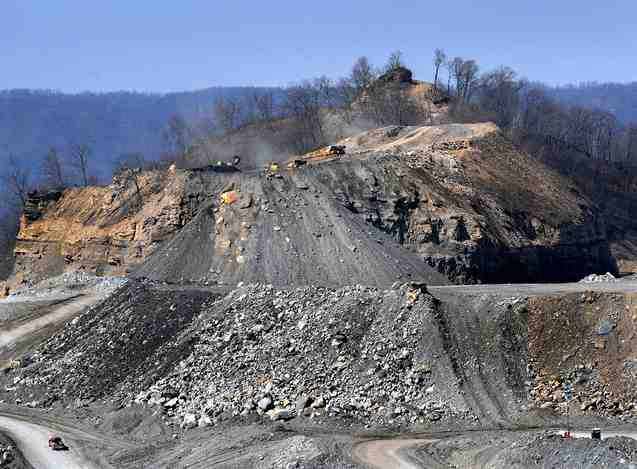 Impact of MTR mining, location & date unknown/Michael Williamson, The Washington Post, washingtonpost.com