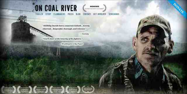 "Poster for ""On Coal River,"" released Summer 2010, oncoalriver.com"