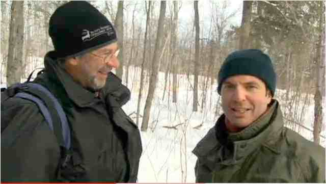 Martin Olbert & Rick Mercer go bear tagging in Algonquin Park, Ontario/youtube.com