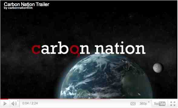 "Image from trailer for ""Carbon Nation""/carbonnationmovie.com"