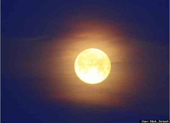 Supermoon, Upper Makefield, PA, March 19, 2011/Mark Setash, huffingtonpost.com