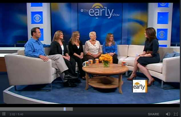 "Dawn Brancheau's family appears on CBS's ""The Early Show,"" April 4 2011/CBS News, cbsnews.com"