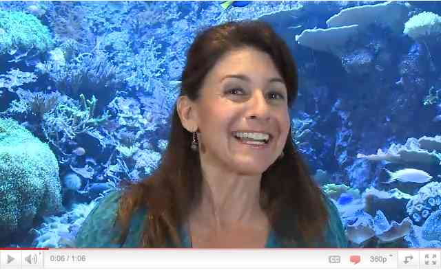"Julie Scardina, SeaWorld Parks & Entertainment Curator of Animal Training, talks about ""One Ocean""/SeaWorld, Inc., youtube"