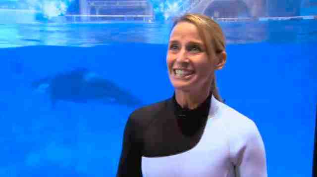 Kelly Flaherty Clark sharing feelings about birth of Katina's new calf, SeaWorld Orlando, Oct 9 2010/SeaWorld, video, youtube.com