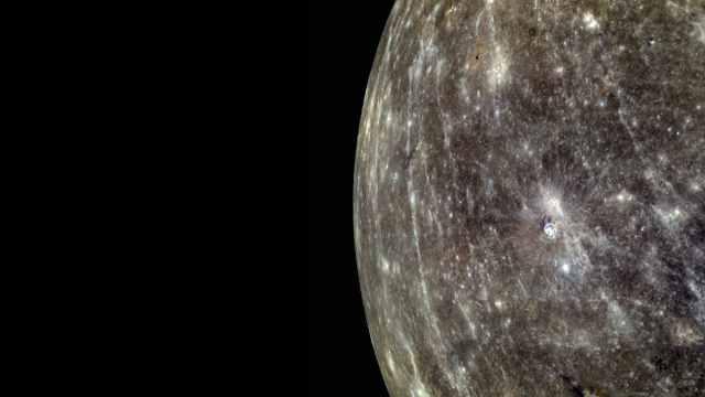 Color enhanced image of Mercury, March 29, 2011/NASA, Johns Hopkins University Applied Physics Laboratory, Carnegie Institution of Washington, messenger.jhuapl.edu
