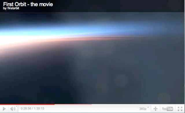 """Image from """"First Orbit,"""" produced by The Attic Room in collaboration with the European Space Agency and NASA /firstorbit.org"""
