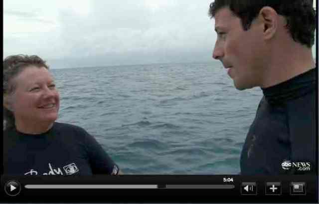 Denise Herzing & Matt Gutman, Bahamas, 2011/ABC News, abcnews.go.com