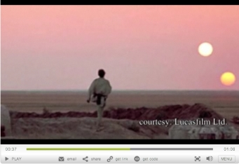 "Fictional planet Tatooine from ""Star Wars"" also had 2 suns/Lucasfilm Ltd., space.com"