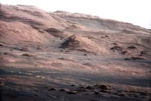 Aolis Mons/Mt. Sharp, Gale Crater, Mars, undated/NASA, Caltech-JPL, MSSS, Universitytoday.com