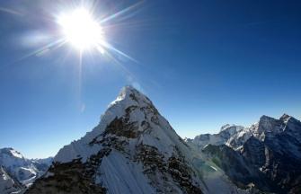 Mount Ama Dablam, Kathmandu, Jan 14, 2011/Prakash Mathema, AFP, Getty, Ottawa Citizen