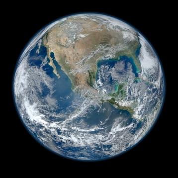 Suomi NPP satellite composite image of Earth, Jan 4 2012/NASA, NOAA, GSFC, Suomi NPP, VIIRS, Norman Kuring, The Register