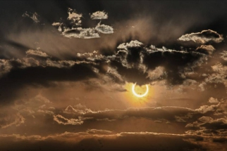 Annular eclipse, Socorro, NM, May 20, 2012/Charles Mendendorp, space.com