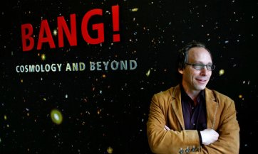 Cosmologist Lawrence M. Krauss/Joshua Lott, The New York Times