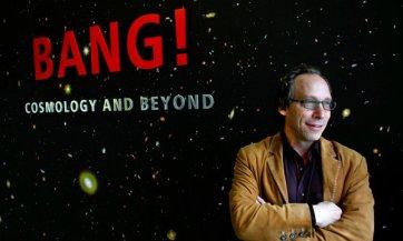 Cosmologist Lawrence M. Krauss/Joshua Lott, The New York Times