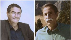 Serge Haroche of France (left) & David Wineland of the U.S., recipients of 2012 Nobel in Physics, undated photos/Reuters, VOA News