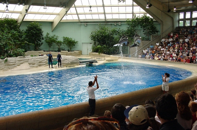 Seven Seas Pavilion, Brookfield Zoo, Brookfield IL, 2000/Fritz Geller-Grimm, wikipedia