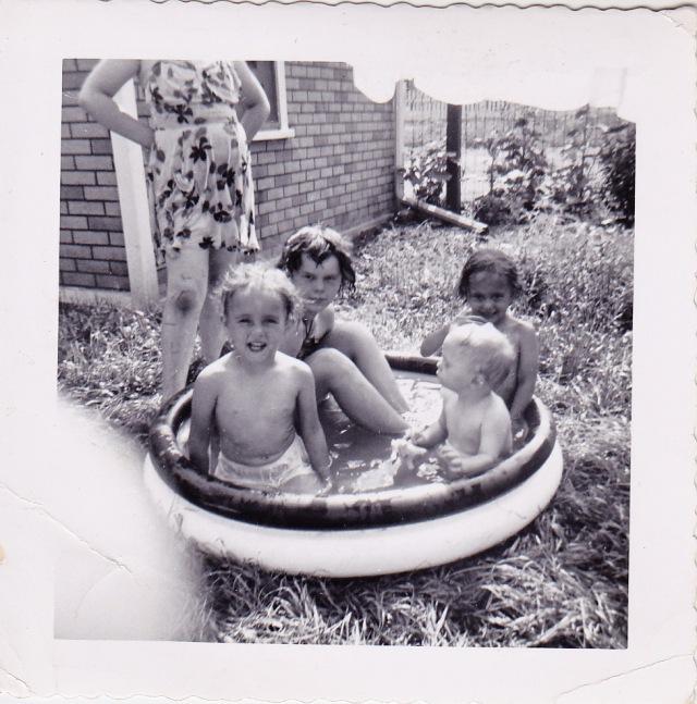 Gini, Louise, Lili & Annette, June 1952
