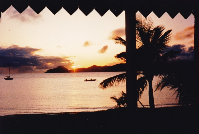 Oualie Beach, Nevis, West Indies, July 1993/G.K. Wallace