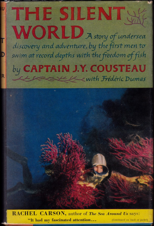 """The Silent World,"" by J.Y. Cousteau with Frédéric Dumas, Harper & Brothers, 1953/GNN Library"