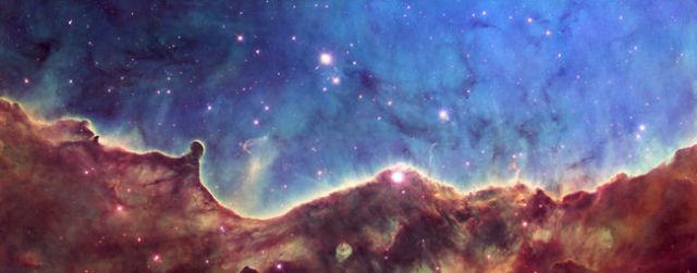 Hubble image of gas, dust & stars in star-forming region NGC 3324, constellation Carina, released Oct 2, 2008/NASA, Toronto Sun