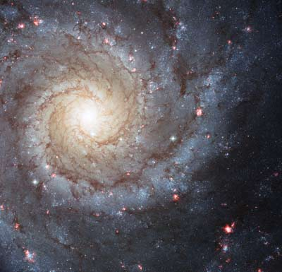 Spiral galaxy Messier 74, undated/NASA, ESA, Hubble Heritage-Hubble Collaboration, hubblesite.org