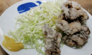 Fried whale meat ordered up at a Tokyo restaurant/Yukiro Nakao, Reuters, The Guardian