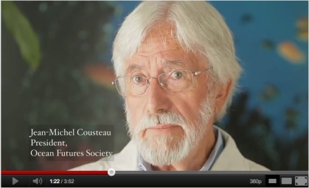 Jean-Michel Cousteau speaks out for killer whales/Free Morgan PSA, Dove Jones, YouTube.com