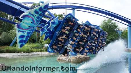 Manta roller coaster, SeaWorld Orlando, March 2011/OrlandoInformer.com