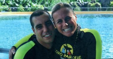 Alexis Martinez & Dawn Brancheau, Loro Parque, Tenerife, Canary Islands, undated/stopcetaceancaptivitynew@wordpress.com