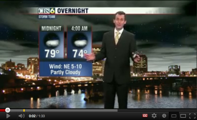 Hot Weather in Richmond This Weekend/FakeNBC12, youtube.com