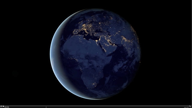Night Lights 2012 - The Black Marble, Images acquired April 18-Oct 23, 2012/NASA
