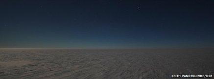 Antarctic landscape, undated/Keith Vanderblinde, NSF, BBC News