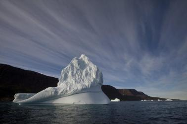 Arctic ice, undated/Brenan Linsley, AP, The Christian Science Monitor