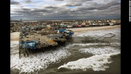 Boardwalk, Seaside Heights, NJ, post-Sandy, Oct 31, 3012/Mario Tama, Getty Images, CNN