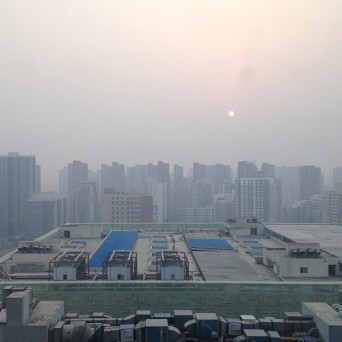 Air pollution, China, undated/Kpopstarz.com