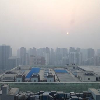 Air pollution, China, undated/Kpopstarz.com