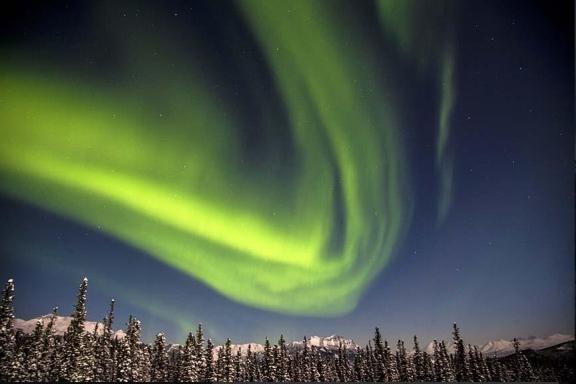 Northern Lights, Denali National Park, Jan 26, 2013/DenaliNPS, witter.com