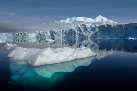 Sheldon Glacier, Ryder Bay, Adelaide Island, Antarctica, 2011/British Antarctic Survey, Reuters, The Christian Science Monitor