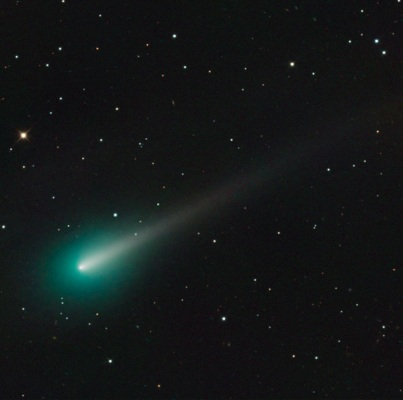 Comet Ison, photographed with telescopic lens from U. of Arizona's Mt. Lemmon Sky Center, Summerhaven, AZ, Oct 8, 2013/Adam Block, Space.com