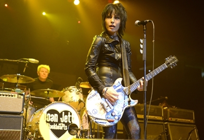 Joan Jett performs in Sacramento, CA, undated/Tim Mosenfelder, Getty , Rolling Stone