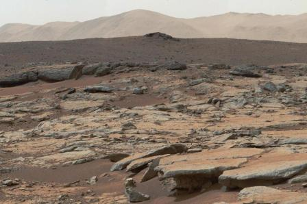 Sedimentary deposits, Gale Crater, Mars/Curiosity rover, NASA, JPL-CALTECH, MSSS, AFP, Getty, The Boston Globe