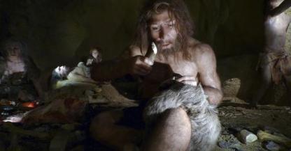 Artist's rendering of Neaderthal-Homo Sapien hybrid/Discovery News