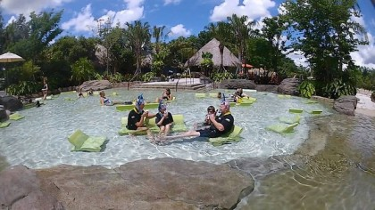 Relaxation Station, Freshwater Oasis, Discovery Cove, Orlando, FL, July 12, 2012/Red Huber, Orlando Sentinel
