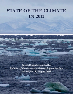 Cover of American Meteorological Society's 2012 Climate Change Report/NOAA News