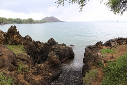 Makena Landing, Maui, near location of December 2 fatal shark attack/Wendy Osher, Maui News