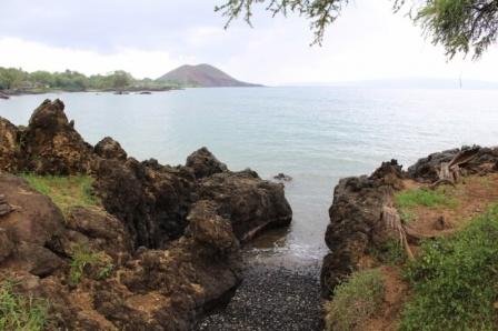 Makena Landing, Maui, near location of December 2 fatal shark attack/Wendy Osher, Maui News