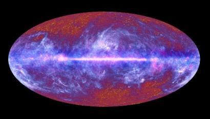 Planck telescope image of entire sky, released July 5, 2010/ESA, AFP