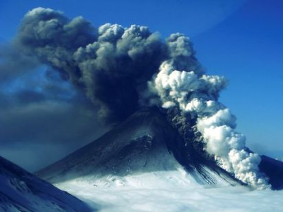 Pavlof volcano, Aleutian Islands, Alaska, May 16, 2013/Theo Chesley, Alaskan Volcano Observatory, AP, USA Today